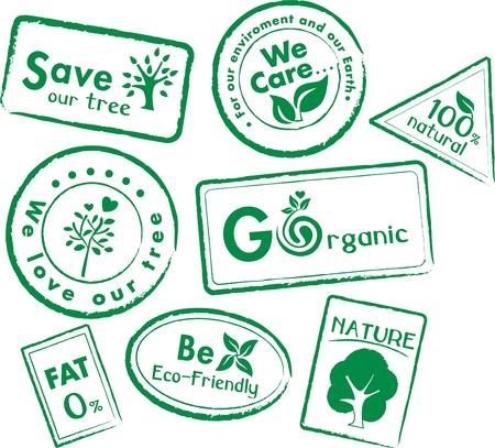 saludable logo: Etiqueta