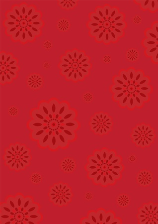 Flower Wallpaper Vector