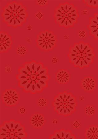 flores chinas: Papel pintado de flores