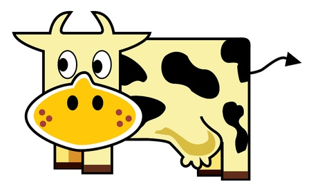 Cow Stock Vector - 16557955