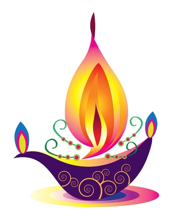 lampa naftowa: Wzór Indian Oil Lamp