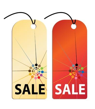 Sale Tag Illustration