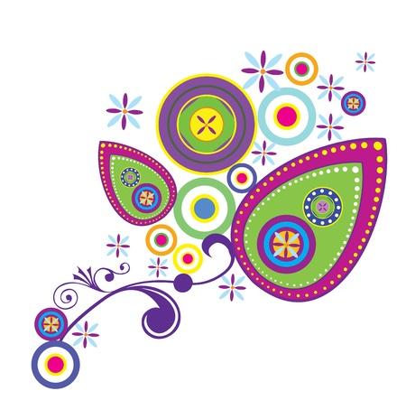 groove: Floral Paisley Design Elements