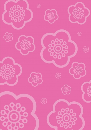 cherry blossom pattern  Stock Vector - 16683909