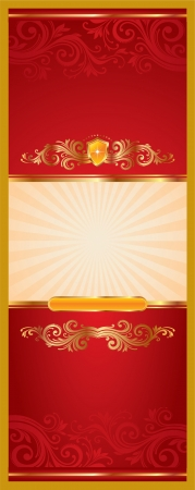 Label illustration Vector