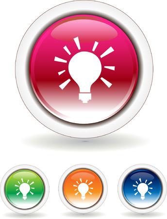 brilliant idea: Idea web icon