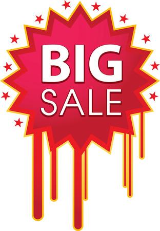 �ard: Big SALE icon Illustration