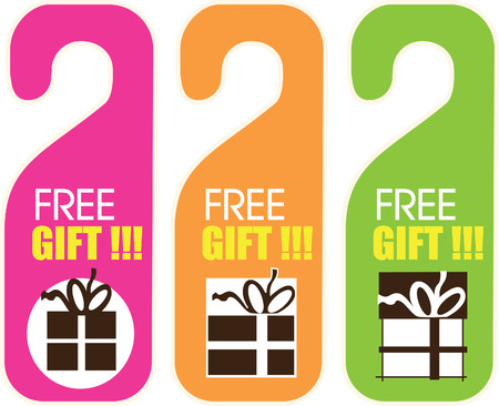 free gift: Free Gift Card Illustration