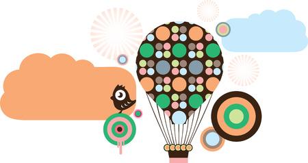 hot air ballon: Air ballons