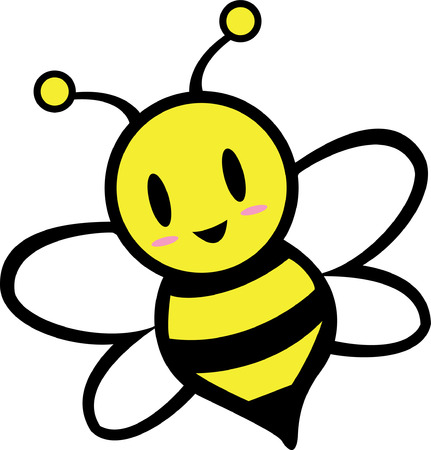 bee hive: Cartoon Bee