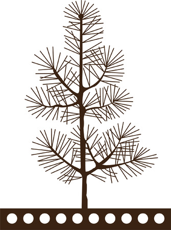 tree outline: Tree Silhouettes
