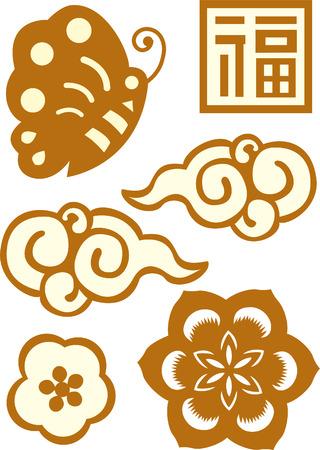 orientalische muster: Klassik Orientalisch Muster Set