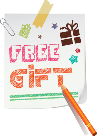 free gift: Free Gift Sketch