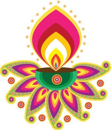 deepavali: diwali candle light