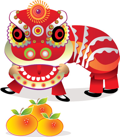 and year: Lion Dance