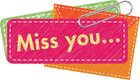 miss: Miss You Note
