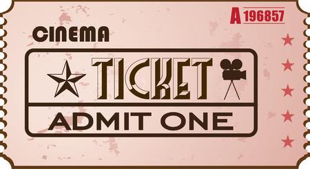 stub: Cinema Ticket Illustration