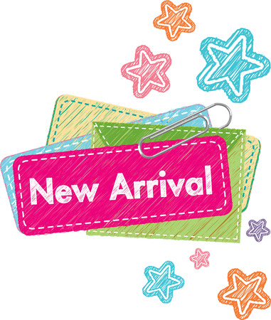 New Arrival Icon Illustration