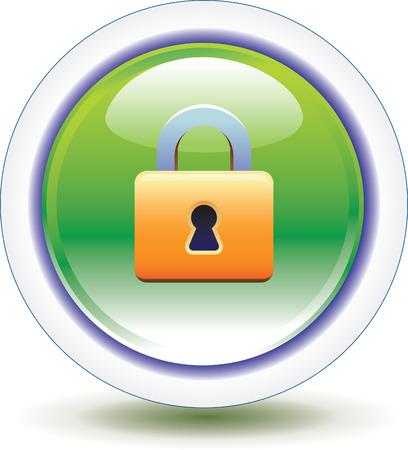 forbidden to pass: Lock Icon