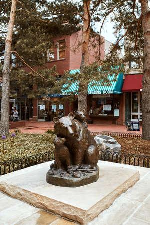 Boulder, Colorado - May 27th, 2020: