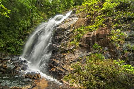palawan: Nagkalit-kalit falls in El Nido, Palawan, Philippines