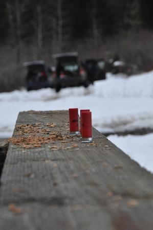산탄 총과 지프 스톡 콘텐츠 - 51035013