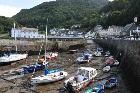 docked: Dry Docked Boats Stock Photo