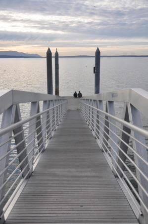 Bayside Dock Banco de Imagens - 51035396