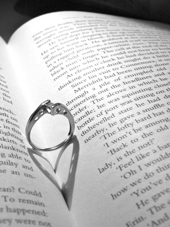 Reading Love Banco de Imagens - 51035569