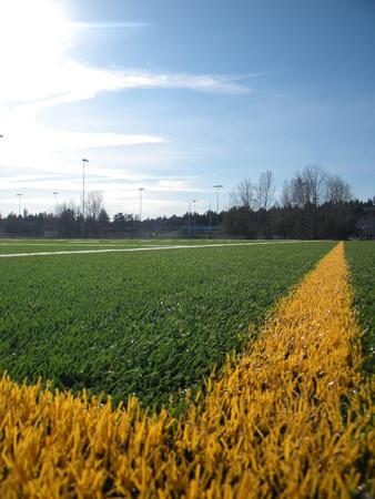 Football Field Banco de Imagens - 51035768