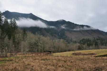 Washington Mountains Banco de Imagens - 51035773