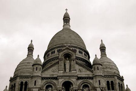 coeur: Sacre Coeur Stockfoto
