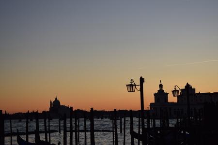 Sunset in Venice Stock Photo - 97110555