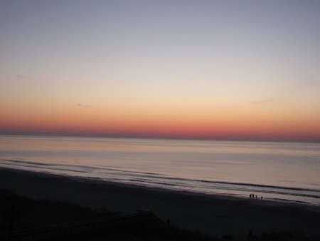 myrtle beach: Myrtle Beach Sunrise Stock Photo