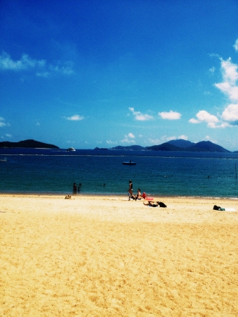 repulse: Repulse bay Stock Photo