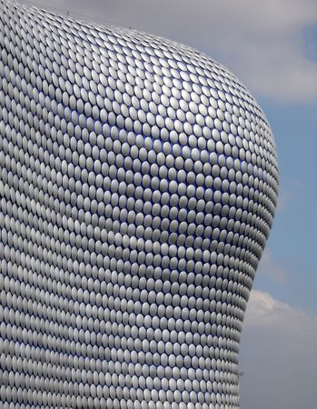 Bullring Shopping Centre - Modern Architecture Stock Photo