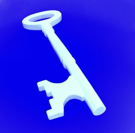 doorkey: Door key - Close up Stock Photo