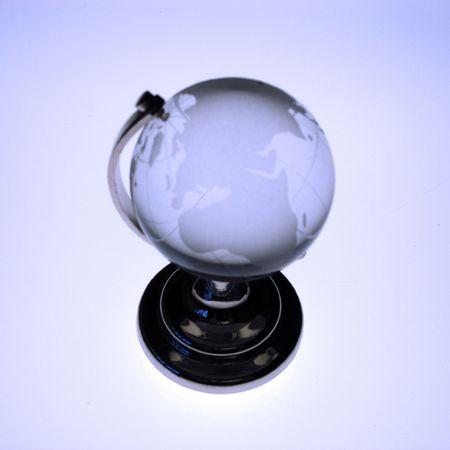 blue toned: Blue tonica globo di vetro