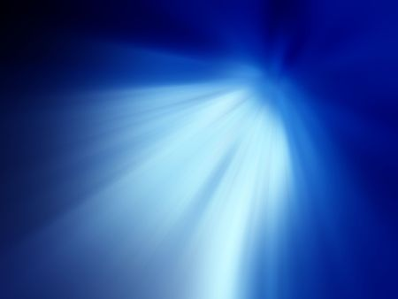 Abstract of Blue Light