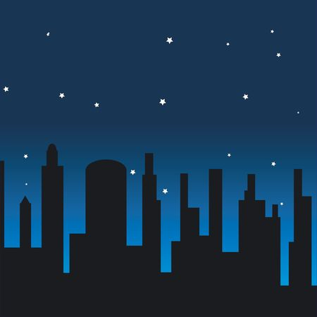 illustrates: stars shining in the sky at night
