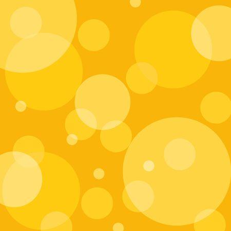 Yellow retro style circles Stock Photo