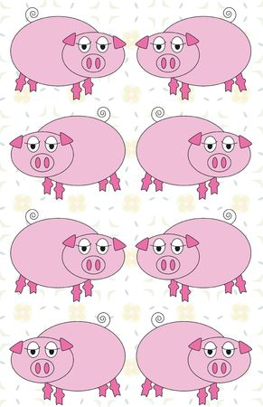 pig background photo