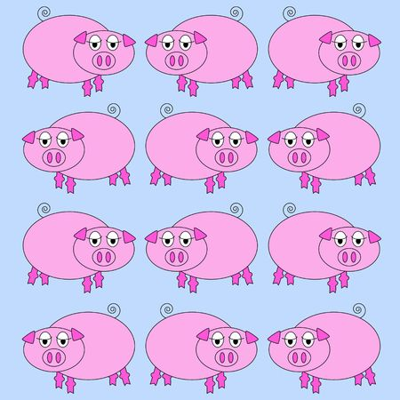 pig background