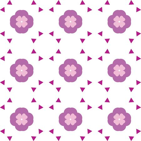 Repeated pattern - flower background photo
