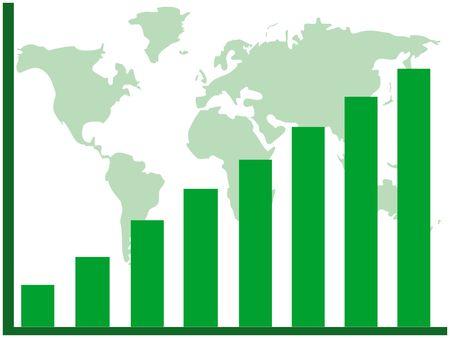 terra: Graph showing rising profits
