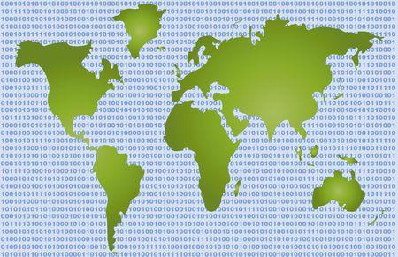Conceptual Map - Binary Code photo