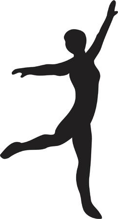 ballet dancer Stock Vector - 416474