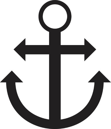buoyant: Anchor silhouette