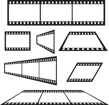 Multiple film strips