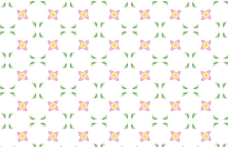 Repeated pattern - flower background Vector
